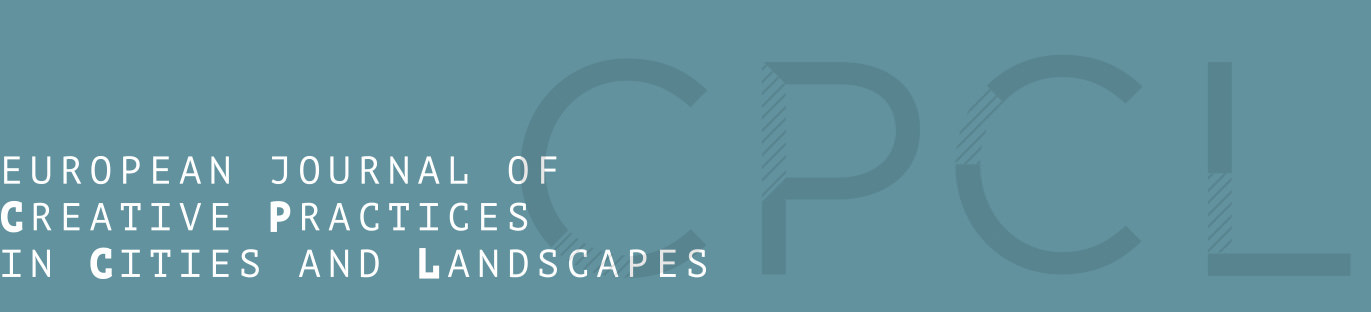 European Journal of Creative Practices in Cities and Landscapes